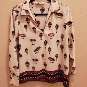 Zara long-sleeved blouse